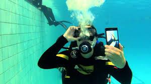 Тест съемки под водой. До 6 метров. Телефон Sony xperia Z1 ...