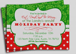 holiday party invitation template 15 christmas party invitation template sample paystub