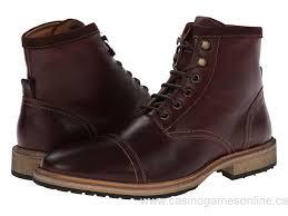 sri160900 canada mens chocolate smooth florsheim in cap toe boot boots
