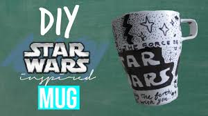 diy star wars inspired mug perfect gifts for him her teacher pas friend etc