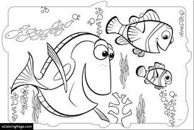 Small Picture finding dory coloring page eColoringPagecom Printable Coloring