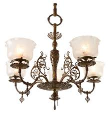 antique chandeliers chicago 88 best gasolier chandelier images on
