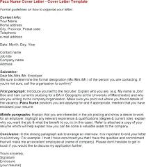 Brilliant Ideas Of Cover Letter Format For Unknown Recipient