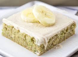 Banana Zucchini Sheet Cake2