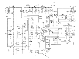 patent us7365637 reversible diode doorbell detection circuit patent drawing