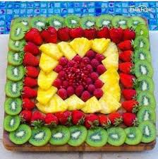 How To Decorate Fruit Tray Beautiful Salad Decoration Ideas with Images Trendy ModsCom 68