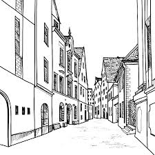Steden En Gebouwen Kleurplaten Kleurplatenpaginanl Boordevol