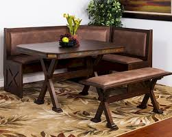 leather breakfast nook furniture. Bench:Sunny Designs Breakfast Nook Savannah Su Unique Corner Bench Picture Ideas Leather 96 Furniture C