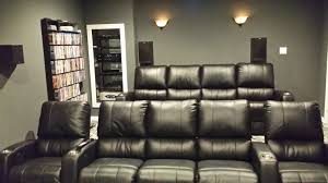 theatre room furniture. Furniture:Black Leather Theater Recliner Sofa Seating Home Room Theatre Furniture