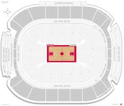 Air Canada Centre Seating Chart Hockey Toronto Raptors Seating Guide Scotiabank Arena