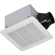 bathroom fan sizing. 0.3 Sones 80 CFM White Bathroom Fan ENERGY STAR Sizing