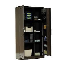 Realspace Storage Cabinet 12 Shelves Dakota Oak by Office Depot