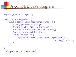 """Java Pattern Compile Delectable 48Sep48 Regular Expressions About """"Regular"""" Expressions In A"""
