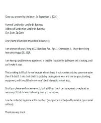Complaint Letter To Landlord Template Apartment Noise Complaint Letter Sample Grabbepflanzungen Info