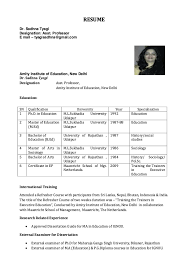 Sample Professor Resume Pin By Ririn Nazza On Free Resume Sample Sample Resume Resume