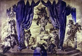José Maria Sert,  peintre, lumière décorateur, André Gide,Paul Morand,Marcel Proust, Marie-Sophie Olga,  Godebsky, murs, mural, décors