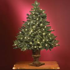Decorating Tabletop Christmas Tree Pre Decorated Awesome Trees Picture  Inspirations Prelit