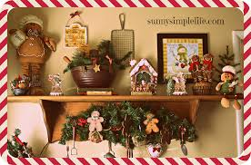 Christmas Decorations For Kitchen Sunny Simple Life Christmas Kitchen Tour 2014 Christmas Home