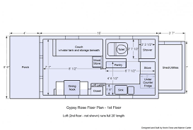 tiny house plans no loft on wheels floor modern romantic cottage
