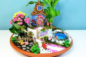 Fairy Garden Pictures How To Make A Fairies Garden Cute Miniature Diy Fairy House With