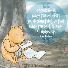 Aa Quotes Delectable AA Milne Quote Organization According To Winnie The Pooh D48D