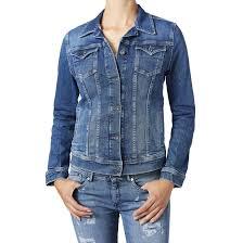 Жакет <b>джинсовый</b> прямого покроя синий стираный Pepe Jeans ...