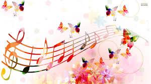 Risultati immagini per clip art animated musical notes