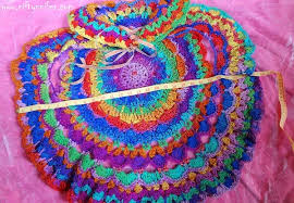 Crochet Circular Vest Pattern Free Best Niftynnifer's Crochet Crafts Free Crochet Pattern Kaleidoscope