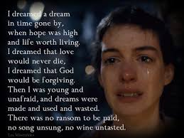 best les miserables images les miserables  les miserables i dreamed a dream pinned by mckenna