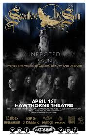 *CANCELLED* <b>SWALLOW THE SUN</b>, with Infected Rain, Idolatrous ...