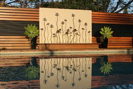 outdoor wall water feature ideas diy outdoor water wall
