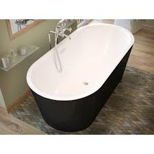 drain for freestanding tub. key freestanding one piece tub with center drain for u