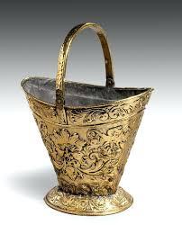 copper fireplace bucket copper fireplace wood bucket