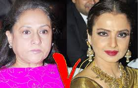 Image result for Jaya Bachchan and Rekha