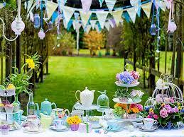 Backyard Decoration Ideas Garden Party