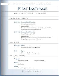 Professional Cv Template Word Free Download Resume