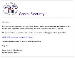 Ssn The - Critical Inc Update Phishing Sample