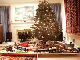 trains under the christmas tree - Google Search