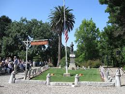 a quarter century ago jean cloud led a coalition of concerned citizens in our area who fought hard to save historic union cemetery here in redwood city