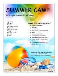 Summer Camp Pamplets 15 Best Summer Camp Marketing Ideas Images Flyer Design Leaflet