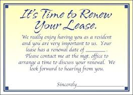 Lease Renewal Letter Inspiration Lease Renewal Letter To Tenant Letter To Tenant Not Renewing Lease