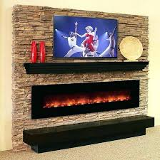 real looking electric fireplace most