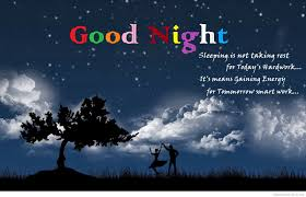 Good Night Images Quotes Good Night Coloured Wallpaper Good Night