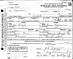 Understanding And Interpreting Birth Certificates Backtracking The