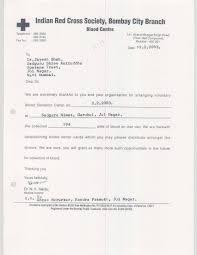 Appreciation Letter Blood Donation Camps Shree Aniruddha Upasana
