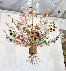 full size of living fabulous glass flower chandelier 16 b glass flower chandelier parts