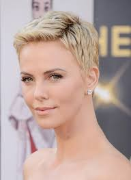 Pixie Cut Hairstyle charlize theron short pixie haircut popular short hairstyles for 3715 by stevesalt.us