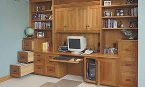 office cabinets design. Custom Home Office Cabinets Design