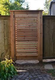 Brilliant Wood Fence Gate Plans Louver Fences A On Design Decorating