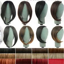 Details About Long Side Bangs Clip In On Real Fake Fringe Bangs Hair Extensions For Hallowmas
